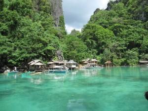 coron island palawan village