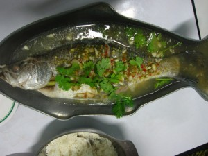 Thai Lemon Snapper blah kah pung manow