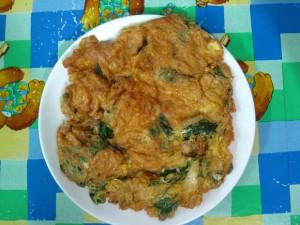 Thai omelet