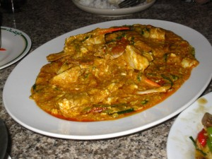 thai curry crab
