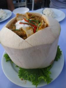 coconut curry thai