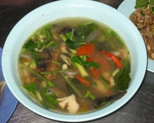 tom saap thai soup