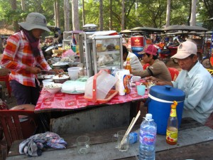 Food at Angkor Wat
