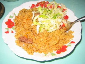 Ghana style Jollof Rice