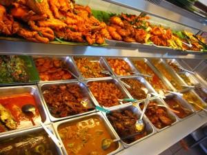 hameed's nasi kandar food