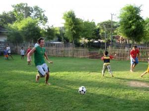 football in bali