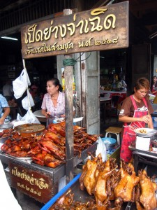 ducks at thai market