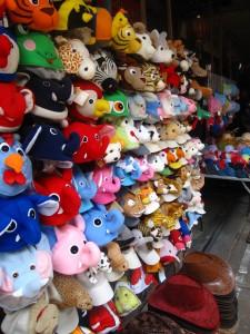 stuffed animals in thailand