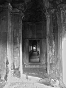 hall at angkor wat