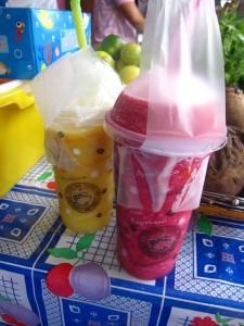 nang loeng fruit shakes