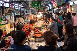 food at Gwangjang Market