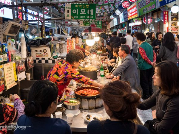 food at Gwangjang Market