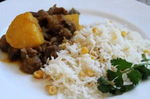 Burmese Duck Curry