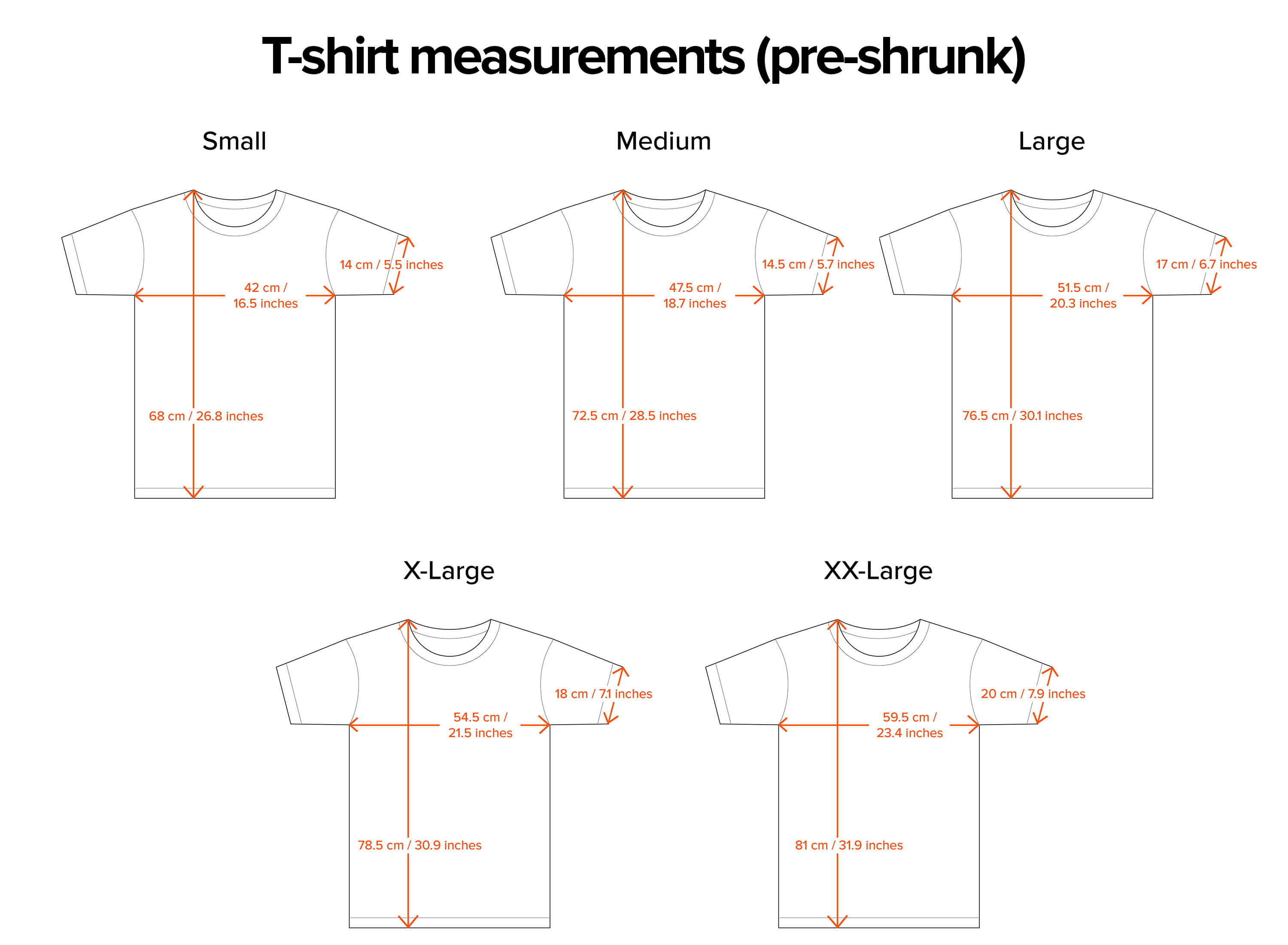 The youth sizes run from Youth XS – Youth XL, with some of the youth sizes being a good fit for petite women, as you can see if you click on the sizing line-up graphic to the left. Overall a great quality, durable, budget-friendly t-shirt.