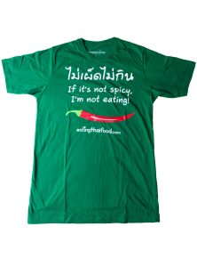 Thai food t-shirt