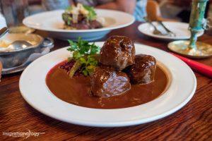 Swedish Food at Restaurant Pelikan