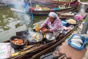 Best floating market in Thailand