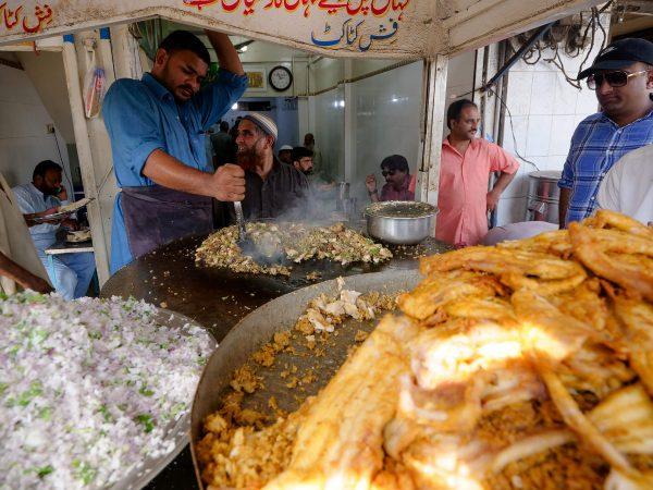 Karachi street food