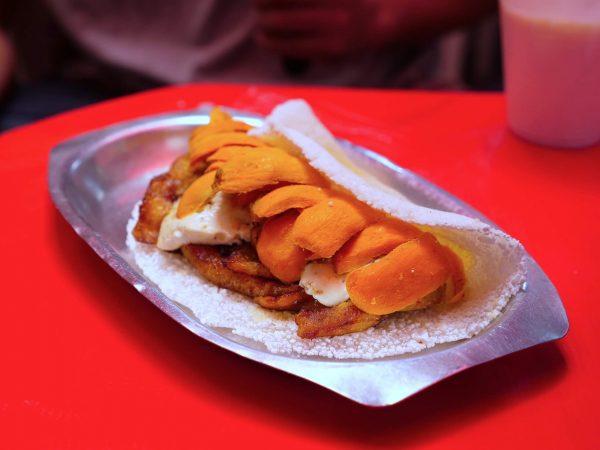 Amazing Brazilian Food Tucuma Tapioca Sandiwich in Manaus (1)