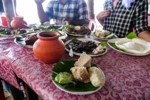 Alaphuzza is the place to go for all the spiciest food to go with coconut toddy