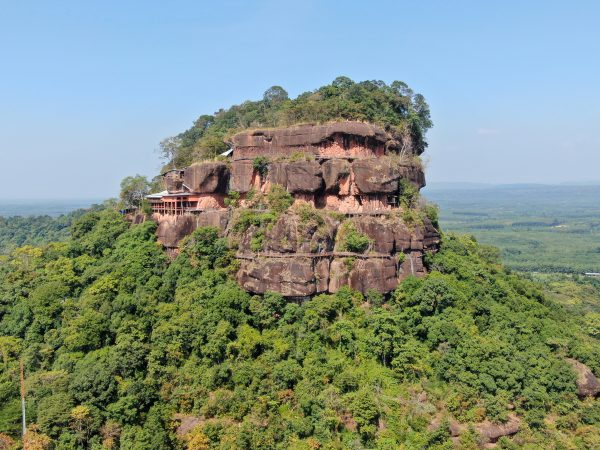 Thailand's most dangerous temple in Bueng Kan